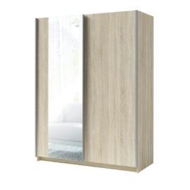 Šatní skříň se zrcadlem SPLIT
