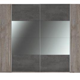 Šatní skříň s kombinovanými dveřmi MERWIN